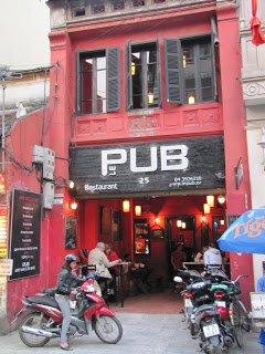 Le Pub, Old Quarter, Hanoi