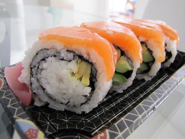 Sushi @ Isetan KLCC, Malaysia