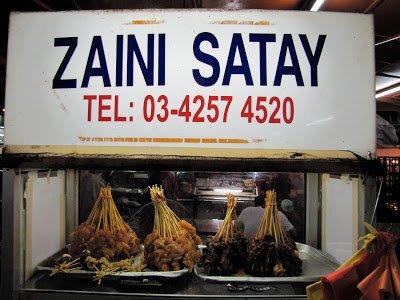 Zaini Satay, Ampang Jaya, KL, Malaysia