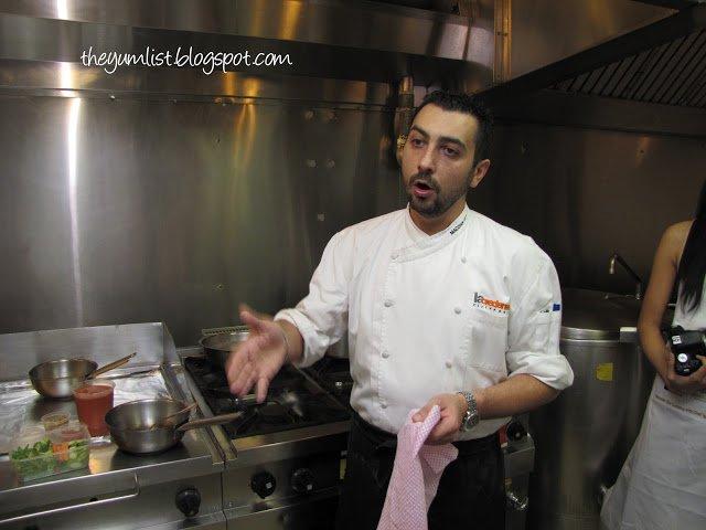 Cooking Class & Wine Dinner with Michelin Starred Chef Igor Macchia @ MO Grill, Kuala Lumpur, Malaysia