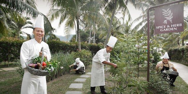 Spice and Herb Garden, Rasa Sayang, Batu Ferinngi, Penang, Malaysia
