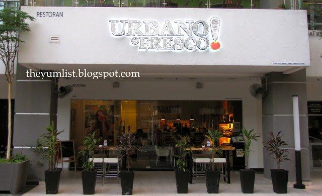 Urbano e Fresco, Publika, Solaris Dutamas, Kuala Lumpur, Malaysia