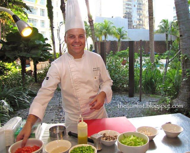 Intercontinental Kuala Lumpur's New Executive Chef, Darrell J. O'Neill, Malaysia