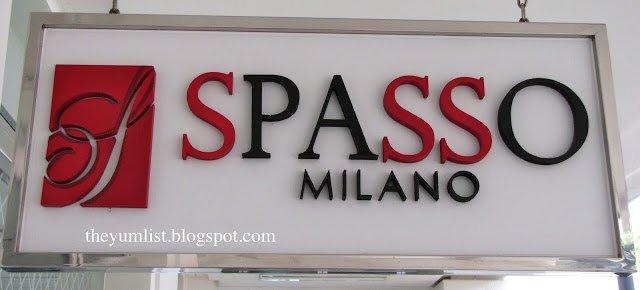 Spasso Milano, Straits Quay Marina Mall, Penang, Malaysia