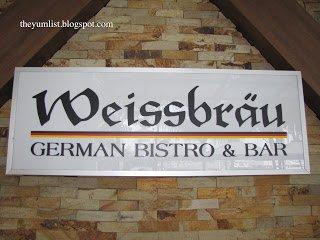 German Restaurant, Weissbrau, Straits Quay, Penang