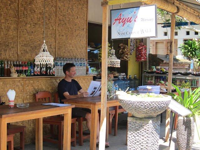 Ayu's Warung, Ubud, Bali, Indonesia