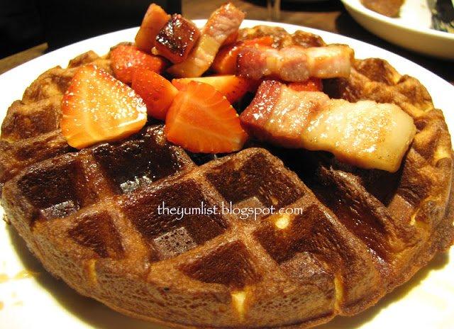 B.I.G, S.Wine, Publika, non-halal, Solar Dutamas, breakfast, brunch, bubbly brunch, pork, bacon, French toast, waffles, Kuala Lumpur