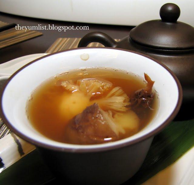 Mandarin Oriental, Lai Po Heen, MIGF menu