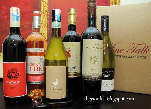 Wine Talk with Room Service, Kuala Lumpur, Malaysia