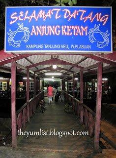 Anjung Ketam, Crab Restaurant, Labuan, Malaysia