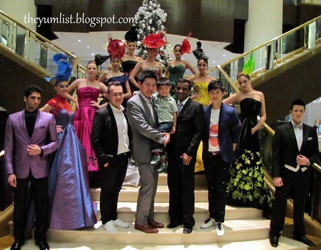 One Six Five, InterContinental Kuala Lumpur, event location, fashion show, cocktails, tapas