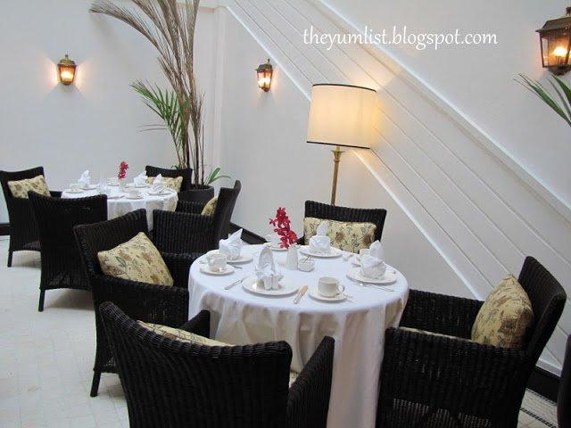 Colonial Cafe Menu Kl