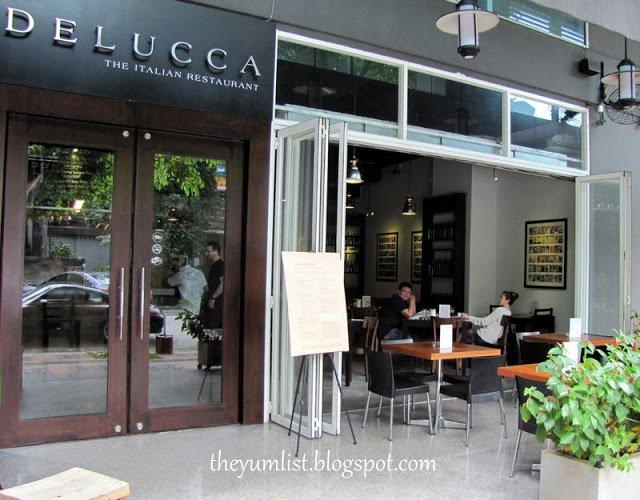 Delucca Italian Restaurant, Best Pizza in KL, Changkat Bukit Bintang, Malaysia