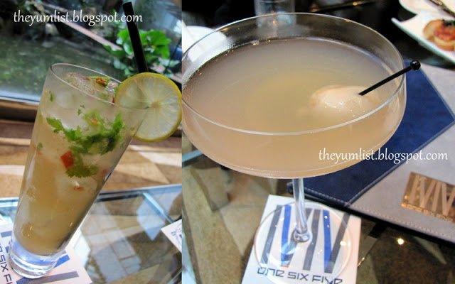 One Six Five, InterContinental, Tapas, Cocktails, stylish bar, lounge, KLCC city centre