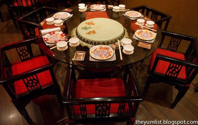 Chinese New Year at Chynna Restaurant, The Hilton Hotel, Kuala Lumpur, Malaysia