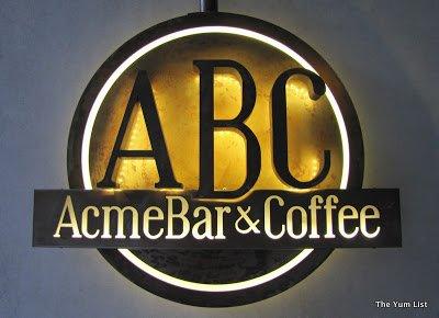 Acme Bar and Coffee, ABC, Valentine and Spring Menus, Kuala Lumpur, Malaysia