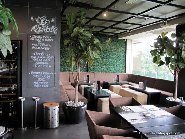 Twentyone Tables + Terrace, Bangsar Shopping Centre, Malaysia