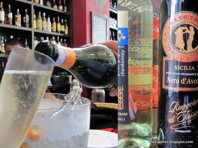 Bubbly brunch, Sunday brunch, free flow wine, prosecco, Neroteca, Italian restuarant