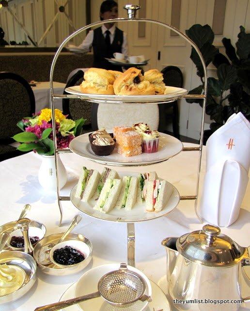 Harrod's KLCC, afternoon tea, scones, clotted cream, jam, fine dining