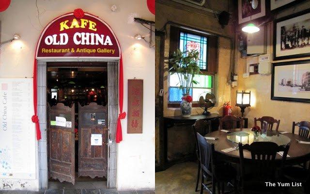 Old China Cafe, Chinatown, Kuala Lumpur, Malaysia