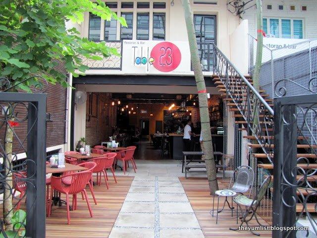 Table 23 Restaurant and Bar, Bukit Bintang, Kuala Lumpur, Malaysia