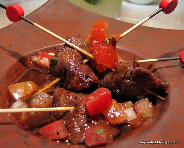 Qba, Westin Hotel, Kuala Lumpur, Latin restaurant, Latin bar, steak