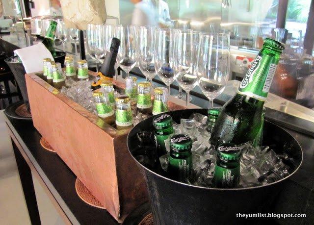 bubbly brunch, the club, the restaurant, saujana resort, sunday brunch, free flow