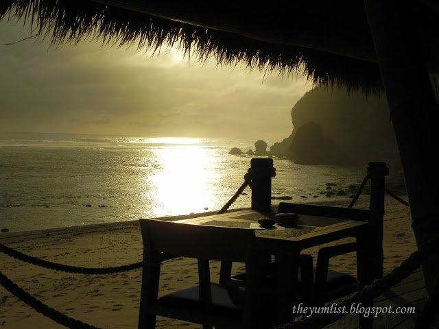 Sunset at Finn's Beach Club