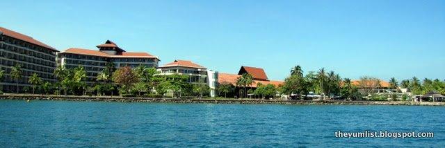Shangri-La's Tanjung Aru Resort and Spa, Kota Kinabalu, Sabah, Borneo, Malaysia