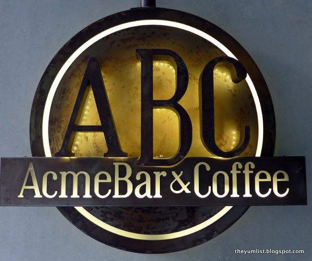 Acme Bar and Coffee (ABC), Troika, Kuala Lumpur, Malaysia