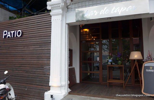 Patio – Bar de Tapas, Georgetown, Penang, Malaysia