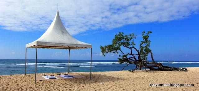 Beach Picnic, Nikko Bali Resort and Spa, Nusa Dua, Bali, Indonesia