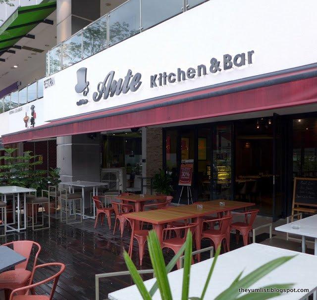 Ante Kitchen and Bar, Solaris Dutamas, Kuala Lumpur, Malaysia