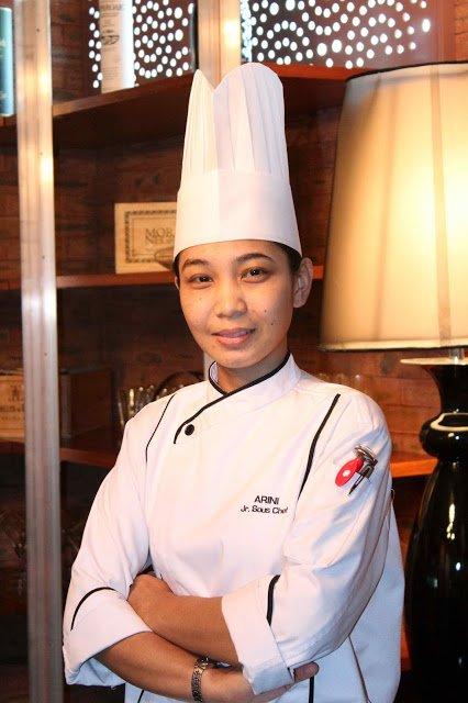 Chef Siti Arini Darsom, Sous Chef Grill 582, Best Western Premier, Kuala Lumpur, Malaysia