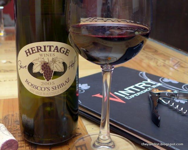 Heritage Wine Dinner, Ribs by Vintry, Damansara