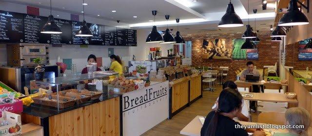 BreadFruits, Fruits and Bakery, Sri Hartamas, brunch