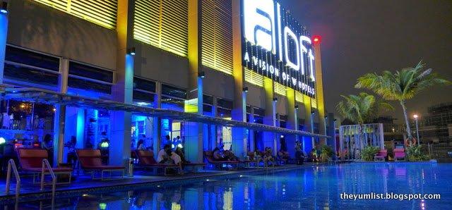 Mai Bar, Aloft, KL Sentral, Kuala Lumpur, Malaysia