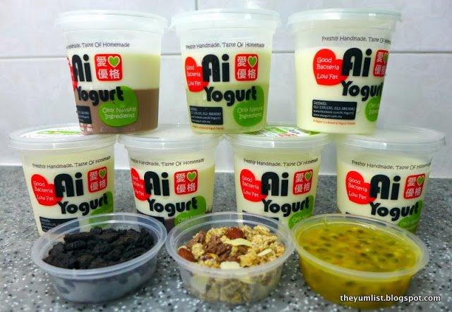 Ai Yogurt, Home Made Yogurt and Delivery, Kuala Lumpur, Malaysia