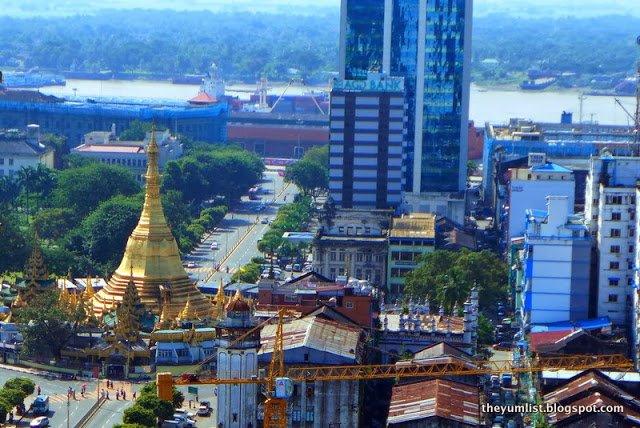 Traders Hotel, Yangon, Mynamar