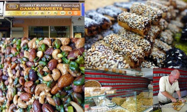 Damas Sweets, Syrian Desserts, Ampang Point