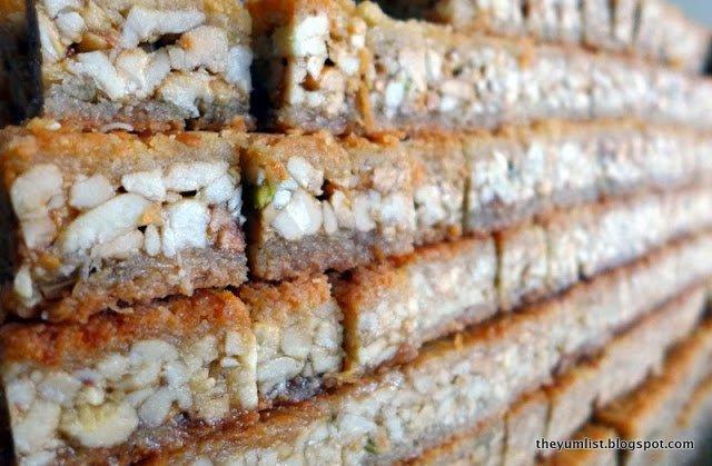 damas sweets, ampang point, syrian desserts