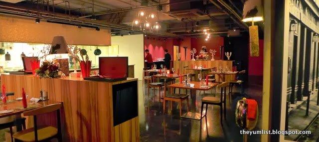 Grill 582, Christmas Set Menu, Best Western Premier, Kuala Lumpur, Malaysia