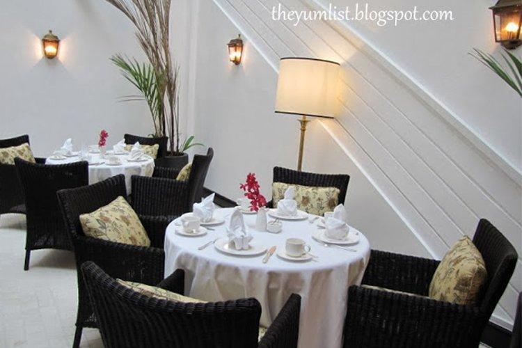Colonial Cafe, The Majestic Hotel Kuala Lumpur, Malaysia