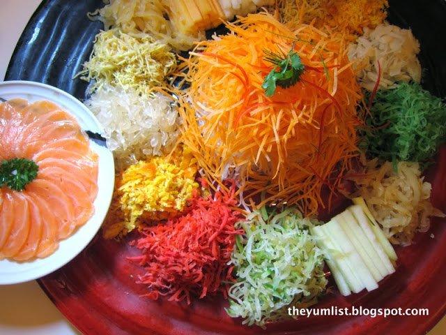 Lai Po Heen, Mandarin Oriental Kuala Lumpur, authentic Cantonese cuisine, Chinese New Year set menu, Yee Sang, award winning restaurant, Year of the Horse, superior ingredients,