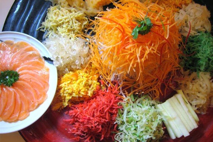 Chinese New Year Reunion, Lai Po Heen Restuarant, Mandarin Oriental Hotel, Kuala Lumpur, Malaysia