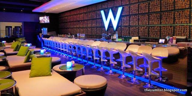 Woo Bar, W Taipei, Taiwan