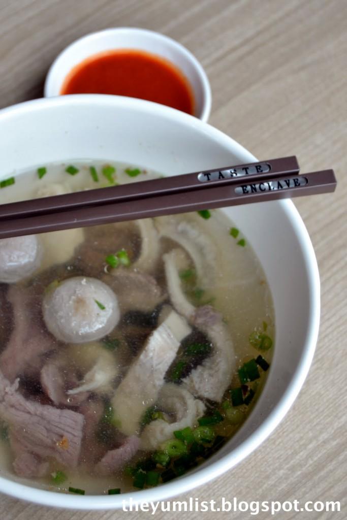 Beef Noodle, Trip Soup