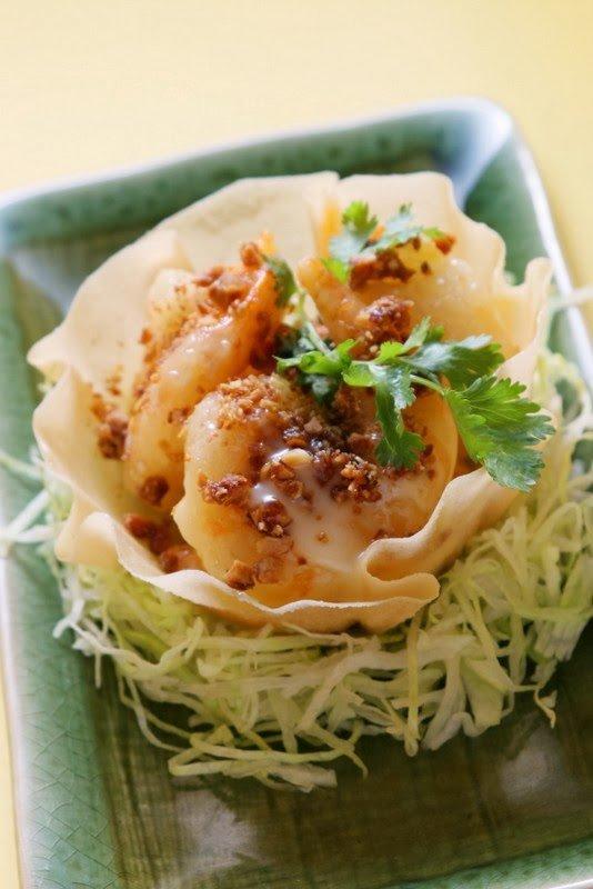 Recipe for Crystal White Dancing Prawns, Starhill Culinary Studio, Kuala Lumpur