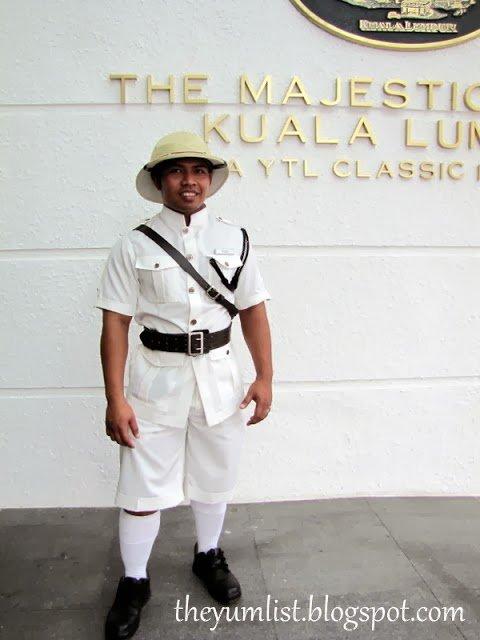 Majestic Hotel Kuala Lumpur, Date Night, Colonial Cafe, Smokehouse, Black and White Movies, Malaysia