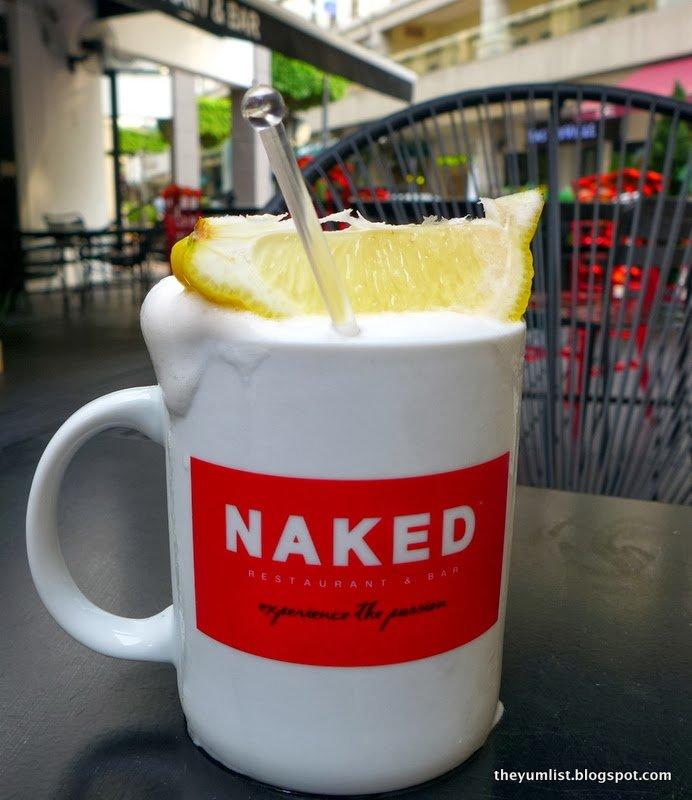 Naked, Plaza Damas, cocktails, American food